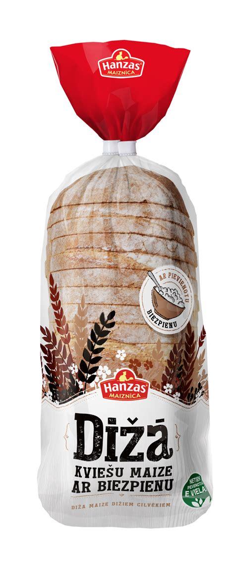 Dižā kviešu maize ar biezpienu - Hanzas Maiznīca
