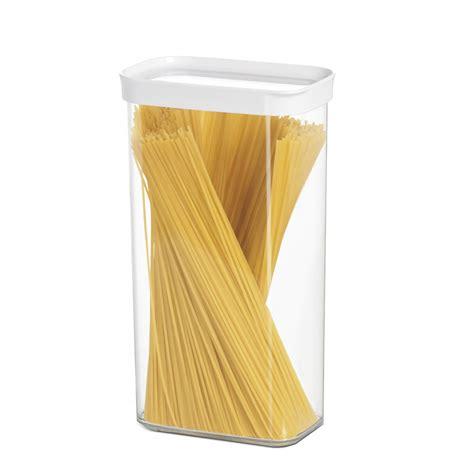 boites de rangement cuisine boîte hermétique pour pâtes empilable plastique 2 8 litres