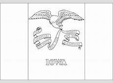 Iowa Flag Flag Of Iowa State