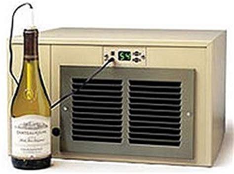 installing wine cooler in existing cabinet breezaire wine coolers