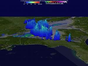 NASA's GPM satellite examines tornadic thunderstorms