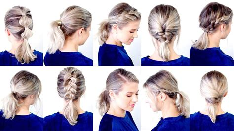 10 easy low ponytail hairstyles milabu