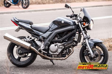 Suzuki Sv650n by Suzuki Sv650n 2005 Test 1 Motormania Motocykle