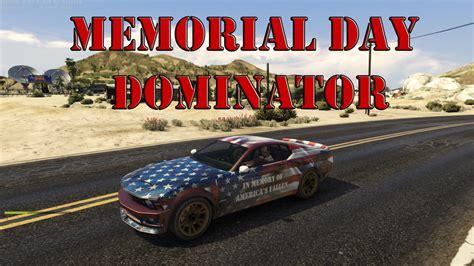 Memorial Day Dominator Gta5modscom