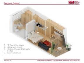 Micro Studio Apartment Floor Plans