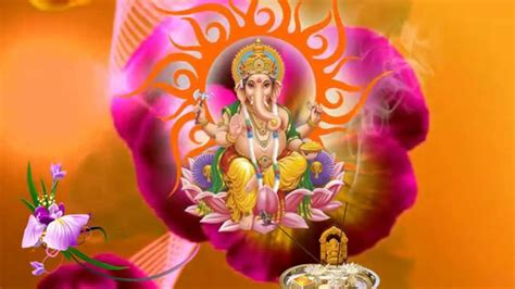 Ganesh Animation Wallpaper - hd lord ganesh background animated free downloads