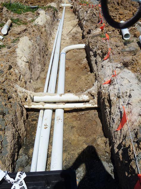 estate infrastructure installation access boring