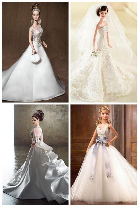 Barbie Wears All The Best Designer Wedding Dresses!   Bridal Musings