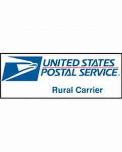 rural carrier logo magnetic sign With rural letter carrier signs