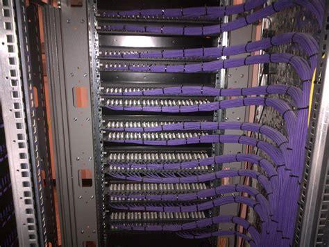Neat Data Wiring Job From Deemrose Engineer