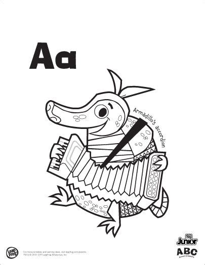 armadillos accordion  zebras zither leap frogs