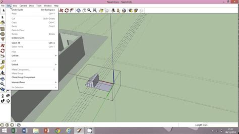 huis ontwerpen op de computer sketchup huis tekenen