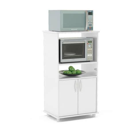 mueble organizador de cocina  espacio  microondas