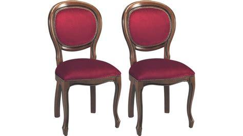 chaises médaillon pas cher chaises médaillon velours bordeaux chaise médaillon pas cher