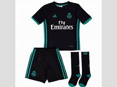 Real Madrid Kids Away Kit 201718 Available to Buy Now!