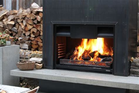 fireplaces  warmington outdoor fireplaces gas wood open