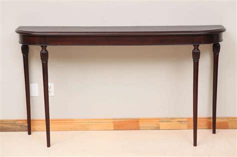 mahogany console table italian mahogany console table at 1stdibs 3947