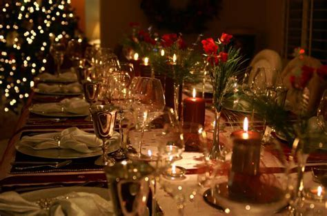 wonderful christmas dinner table decorations ideas MEMES