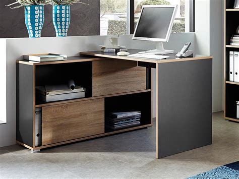 bureau d angle fly meuble bureau d 39 angle fermé bureau idées de décoration