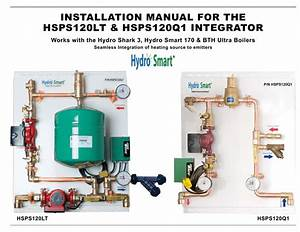 Installation Manual For The Hsps120lt