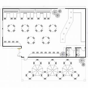 Sample Restaurant Floor Plans to Keep Hungry Customers