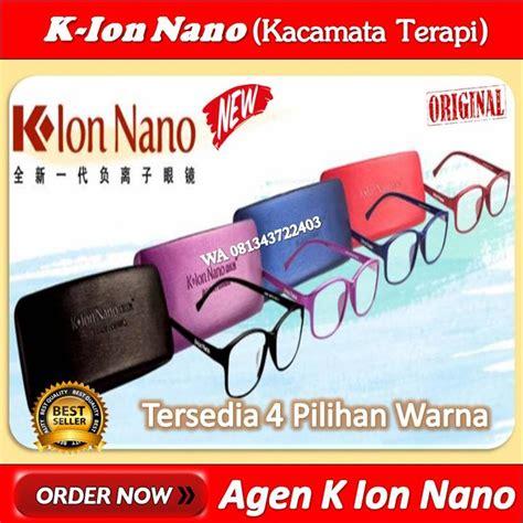 jual harga kacamata  ion nano   lapak pusat alat