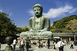 Another View of the Kotokuin (Daibutsu). One of the ...
