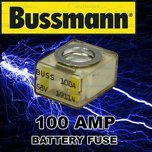 Replacement 100a 100 Amp Fuse 12 12v Volt Dual System Box