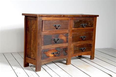 Rustica Upcycled Chest Of Drawers By Little Tree Furniture