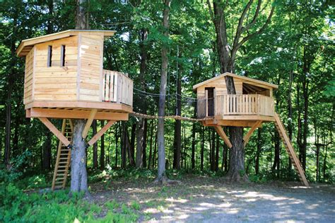 Reaching New Heights With Adult Treehouses-hudson Valley