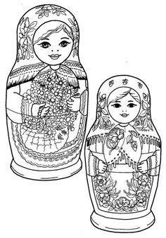 Gallery For > Matryoshka Tattoo Drawing | Matrioskas