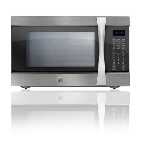 Microwave Convection Countertop by Kenmore Elite 74153 1 5 Cu Ft Countertop Microwave W