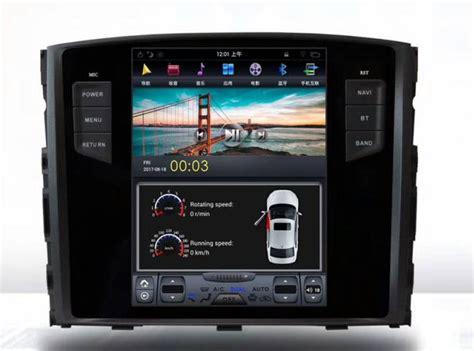 vertical screen tesla style android  car dvd gps