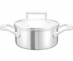 Kochtopf 16 Cm : kitchenaid kochtopf 16 cm mit deckel kc2t15ehst ab 88 99 preisvergleich bei ~ Eleganceandgraceweddings.com Haus und Dekorationen