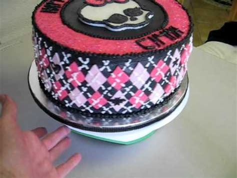 high cake decorating pink skull how to make do