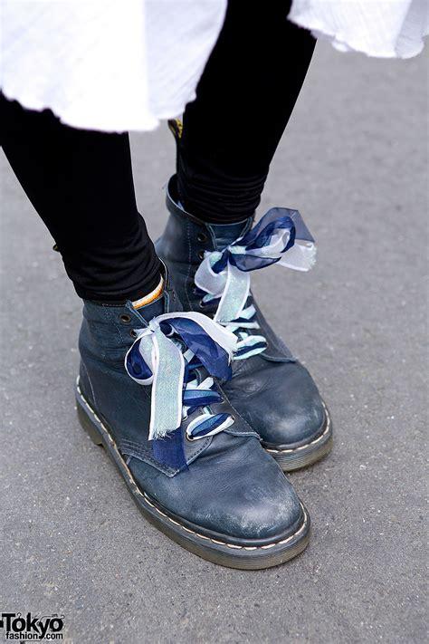 bomber jacket layered skirt dr martens boots  harajuku
