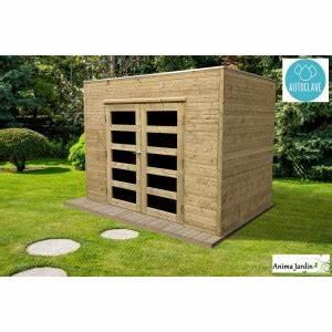 Abri De Jardin Toit Plat Pas Cher : abri de jardin en bois autoclave 19mm capri 5m toit ~ Mglfilm.com Idées de Décoration
