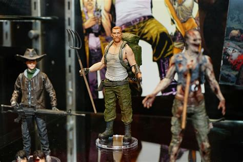 Mcfarlane Walking Dead At Toy Fair 2015
