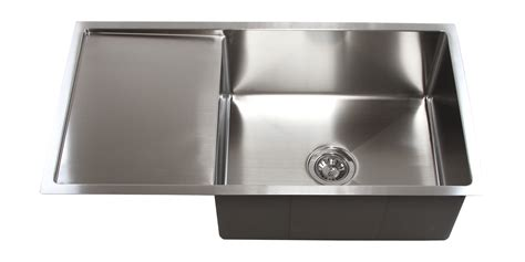 stainless steel kitchen sink with drainboard design 36 inch stainless steel undermount single bowl kitchen