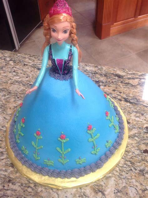 frozen princess anna cake averys birthday