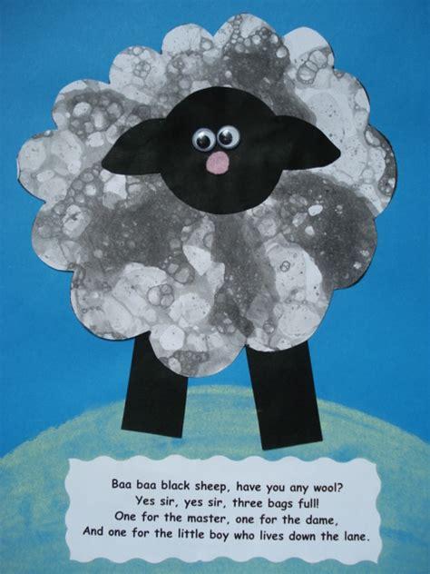 sheep crafts for preschool a faithful attempt baa baa black sheep collage craft 276