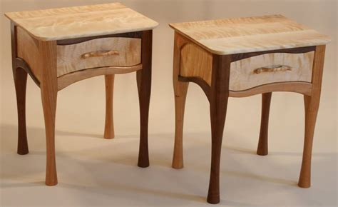 Matching Nightstands by Tables West Barnet Wood Works