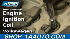 How To Install Replace Engine Ignition Coil Volkswagen