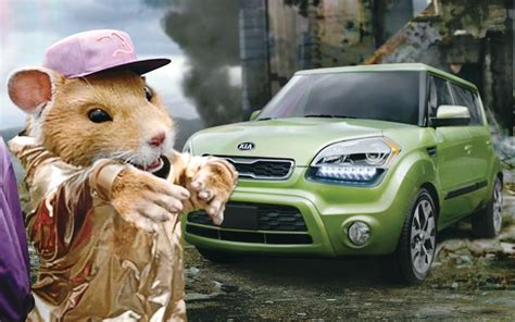 video find hamsters   rolling   kia soul