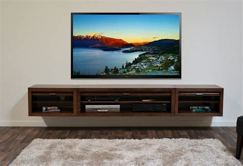 floating entertainment center floating media center stylish and space saving furniture homesfeed