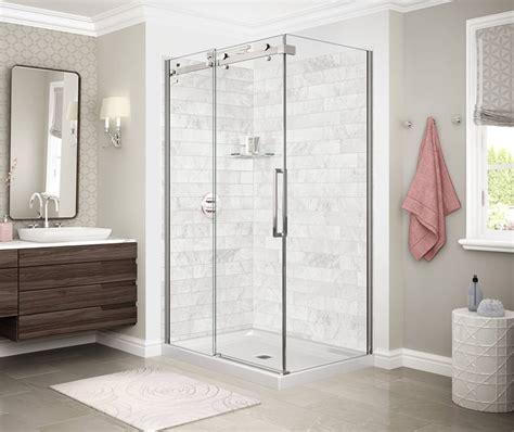 utile marble corner shower maax