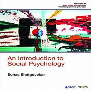 An Introduction To Social Psychology 1st Edition By