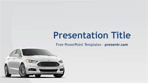 ford powerpoint template prezentr powerpoint templates
