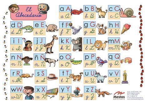 tabla abecedario mestas ediciones