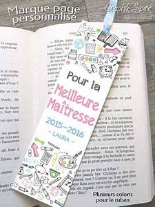 Cadeau Pour Maitresse D École : cadeau pour maitresse maitre marque page meilleure ~ Melissatoandfro.com Idées de Décoration